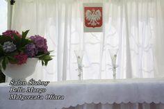 Dekoracje ślubne w namiocie Wedding Planner, Curtains, Home Decor, Wedding Planer, Blinds, Decoration Home, Room Decor, Wedding Planners, Interior Design