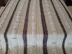 "108""X67"" Moroccan wedding blanket wool  / Moroccan interior design / Handira wedding blanke78"