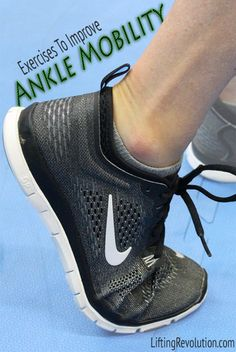 How To Know If You Have Tight Ankles & 5 Exercises To Increase Ankle Range Of Motion Ankle Strengthening Exercises, Ankle Stretches, Ankle Mobility Exercises, Mobiles, Broken Foot, Sprained Ankle, I Work Out, Feet Care, Range Of Motion