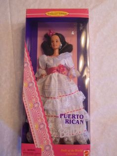 Barbie Dolls of the World - Puerto Rican (1996) New in Box #Dolls