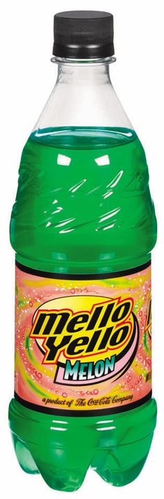 Mello Yello soda drink