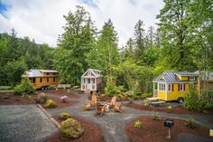 Leavenworth is opening a Bavarian-Themed Tiny House Hotel, giving tourists an opportunity to join the Tiny House movement and partake in local festivities. Tiny House Hotel, Tiny House Rentals, Tiny House Village, Tiny House Blog, Tiny House Community, Tiny Houses, Small Cottages, Tiny House Movement, Tumbleweed Tiny Homes