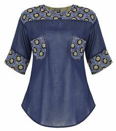 Beaded Pocket Shirt Image