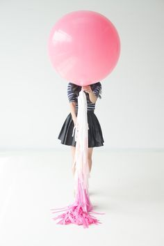 Balloons are fun an inexpensive for all events. #babyshower #birthdayideas #weddingideas #genderreveal