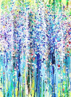 숲forest,나무 tree아크릴화 Acrylic with bark (size:50×70) Snow in Summer Australia