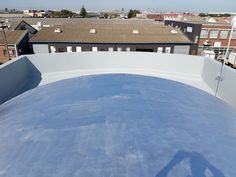 Barrell Roofs Treated with UV Resistant Silver