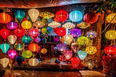 ベトナムの世界遺産「古都ホイアン」のランタン