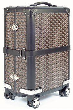 Goyard Bourget Trolley Suitcase