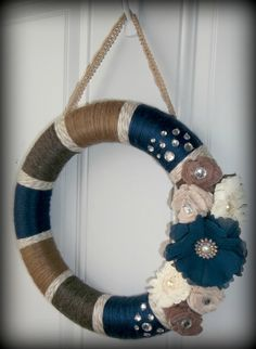 Pretty in Blue, ~Visit out Etsy store at, WreathsByEmmaRuth