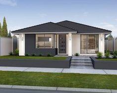 New house facade classic window ideas Small House Design, Modern House Design, Modern Exterior, Exterior Design, Modern Bungalow House, Bungalow Floor Plans, Classic Window, Australian Homes, Facade House