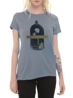 """Disney Beauty And The Beast """"Break The Spell"""" Girls T-Shirt ($16.88-22.50) - Hot Topic"""