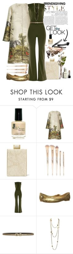 """""""Gather Together: Friendsgiving"""" by loves-elephants ❤ liked on Polyvore featuring Kershaw, Alberta Ferretti, Halston Heritage, Forever 21, WithChic, Frye, Lovers + Friends and Chanel"""
