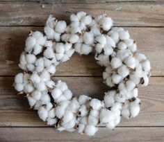 Bursting with rustic charm, this faux cotton boll wreath is the perfect size making it a great accent piece. Cotton wreaths look beautiful all year-round, adding a natural element to your home decor. Straw Wreath, Cotton Wreath, Holiday Wreaths, Holiday Decor, Seasonal Decor, Cotton Decor, Pine Cone Decorations, Mini Candles, Pink Bird