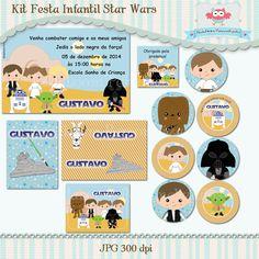 Kit Festa Infantil Star Wars
