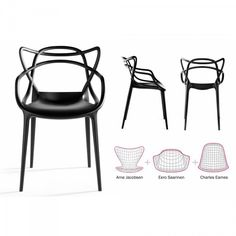Il design che ha fatto la storia riassunto in una sedia che la riscrive per noi Kartell Masters #design #sedie