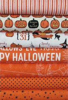 Fabricworm Giveaway: October Afternoon Witch Hazel in Orange!!