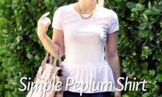 10 Gorgeous Ways To Remake A Shirt - Blissfully Domestic