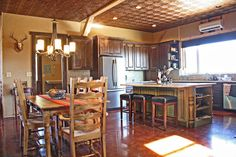 Pole Barn Home's Interior | Various Barn Home Interiors - traditional - kitchen - other metro - by ...
