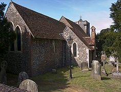 Church of St. Martin in Canterbury is England's oldest parish church in continuous use. Built in 6th century.