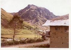 Hermosa vista del cerro Jesús en Hualgayoc, donde empezó la minería de Plata.