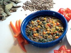 Curry a Base de Lentilhas - Veja mais em: http://www.cybercook.com.br/receita-de-curry-a-base-de-lentilhas.html?codigo=9093
