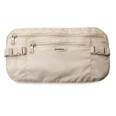Samsonite® Security Waist Belt in Cream - BedBathandBeyond.com