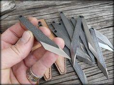 Mini kiridashi EDC knife neck knife carving knife by HKnives