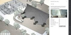 Serpentine Pavilion generator - https://about.archilogic.com/blog/case-study-interactive-serpentine-pavilion/