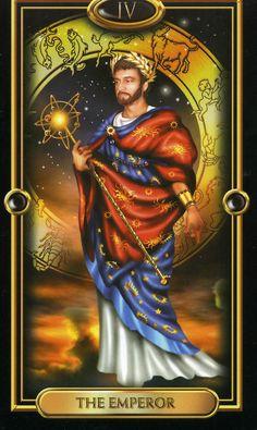 Gilded Tarot Royale - The Emperor