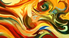 As surreais, coloridas e psicodélicas pinturas digitais de mulheres de Alex Tooth