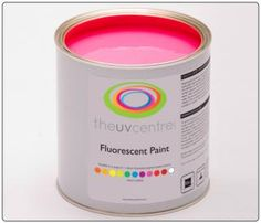 Pink Fluorescent Paint I Would Love To Use This On Something