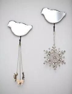 Mirrored Bird Hook