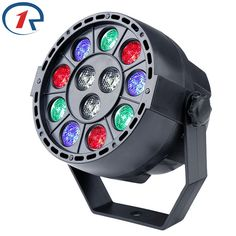 13.99$  Watch now - http://aliw9r.shopchina.info/go.php?t=32778939865 - ZjRight 15W Red Green Blue White 12 LED par light DMX512 Sound control LED stage light for music concert bar disco effect lights 13.99$ #aliexpress
