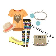 """""""Tween Fashion Inspired by Zoe"""" by lmgrisez on Polyvore"""