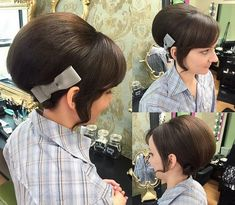 60's inspired beehive updo