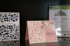 Detailed floral thinlit, floral phrases, Stampin up