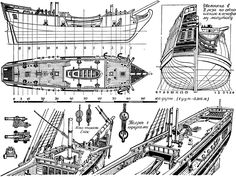 plan Brig Sv Petr and Sv Pavel 1740.jpg (1395×1048)