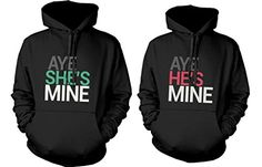 365 In Love His and Her Matching Hoodies Aye She's Mine, Aye He's Mine Couples Hooded Sweatshirts love http://www.amazon.com/dp/B00FXI0DL0/ref=cm_sw_r_pi_dp_23F2tb1RXQT49X8C
