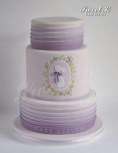 Sweet bunny cake by Sweet K