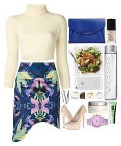 """""""Kendall Jenner inspired #2"""" by vogue-d ❤ liked on Polyvore featuring The Row, Finders Keepers, ALDO, BOBBY, Korres, NARS Cosmetics, Givenchy, Xhilaration, Clinique and H&M"""