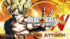 Dragon Ball Xenoverse - All Ultimate Attacks (chronological)