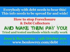 Everybody with a mortgage or debt needs to hear this! Please pass it on! - www.benlowrey.com/debt - YouTube