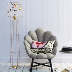 Decoration Fabulous Birdcage Floor Lamp Metal Material Brass Finish Colorful Faux Bird Decorative Accent Home Decor Lighting Fixtures Gray Fabric Sofa Decorative Pillow Home Decorating Ideas 27 Mesmerizing Birdcage Lamp