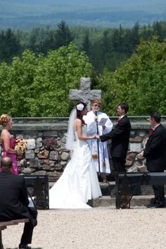 Cathedral of the Pines  ceremony???