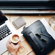 "Carry-On sleeve for 12"" Macbook -  http://www.freshfashiondesign.com/carry-on-folio-sleeve.html #FreshFashionDesign #Accessories  #Mujjo Mr Gumbatron"