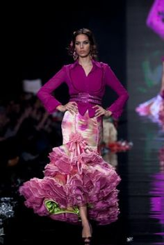 Traje de Flamenca - Margarita-Freire - Simof-2009