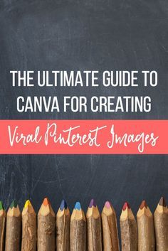 Learn how to create powerful branded images to showcase your blog and website content on Pinterest using the free online design program Canva.  Work through this step by step tutorial that teaches you how to create your first Pin!