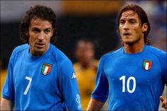 Alessandro Del Piero & Totti