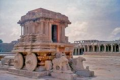 Hampi Karnataka in India, some of the most spectacular and well preserved ruins in India
