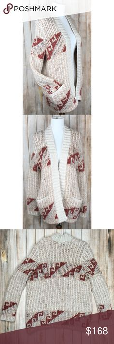 Free People Loose Knit oversized cardigan NWT Free People Time and Again loose knit, open front, oversized cardigan. SOLD OUT online. Comfy and cozy for those cool fall nights and cold winter days. Approximate measurements provided in photos. OFFERS ENCOURAGED!   Tags: neutral tones, earth tones, big, pockets, on trend, brand new Free People Sweaters Cardigans